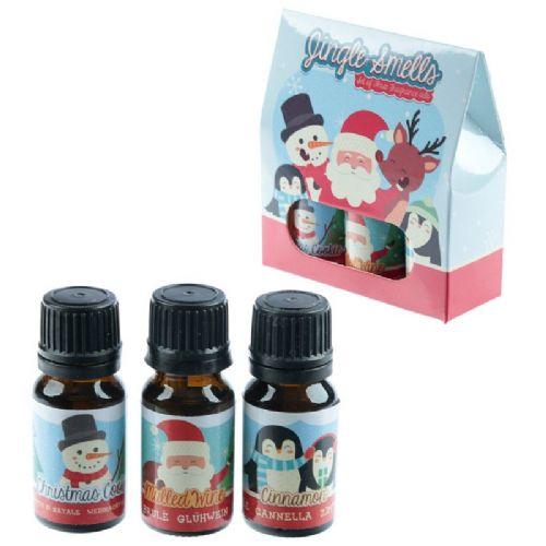 Jingle Smells Eden Set of 3 Christmas Fragrance Oils